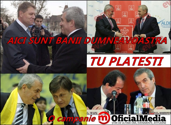 POLITICIENI - TU PLATESTI - OFICIAL MEDIA- MINCIUNI