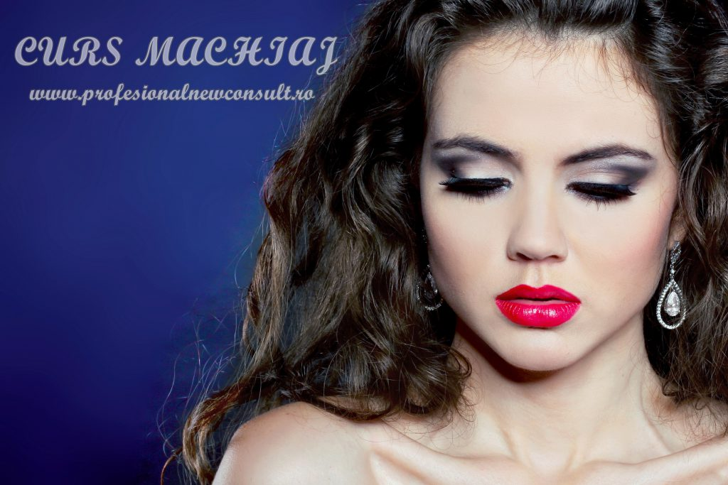 11811428 - close-up portrait of young woman model with glamour make-up