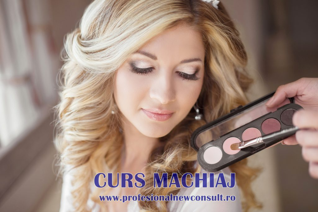 Beautiful bride wedding with makeup and curly hairstyle. Stylist