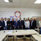 Răzvan Bejan, șanse mari pentru primăria Moreni. Întâlnire cu legende ale boxului românesc