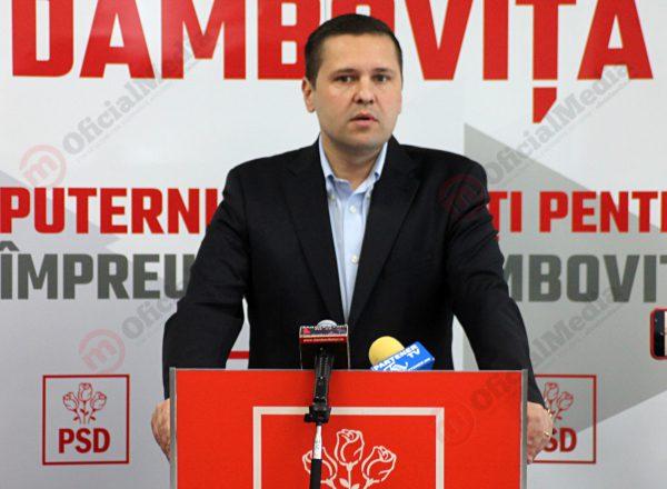 Corneliu Ștefan, președintele PSD Dâmbovița