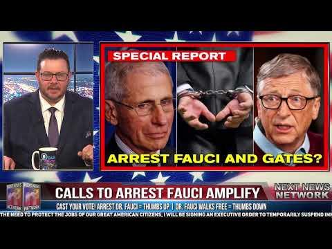 arestarea lui Anthony Fauci și a lui Bill Gates