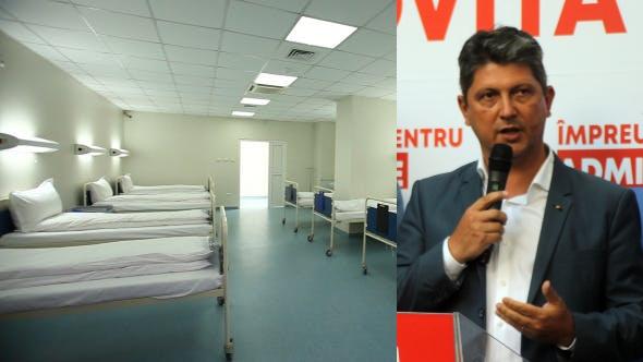 închizi spitalul inventând secția specială pentru covid