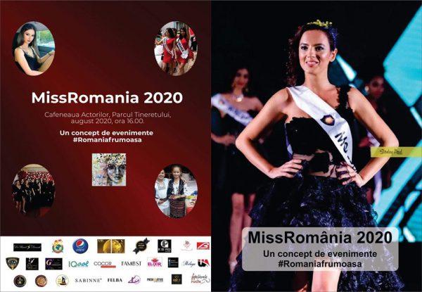 Miss România 2020 - Un concept de evenimente #Romaniafrumoasa