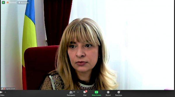 """Prof. univ. dr. Agnes Terezia Erich - director al Bibliotecii Județene """"I. H. Rădulescu"""" Dâmbovița"""